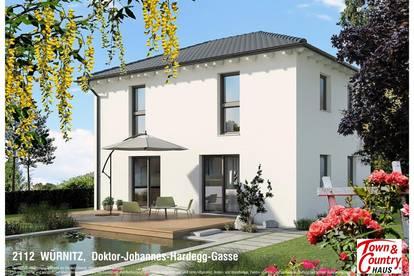 19 Minuten von Wien, schöne Einfamilienhäuser mit 300 bis 500m² Grundanteil