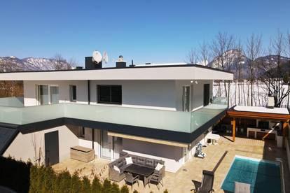 Modernes Einfamilienhaus mit Pool in Ruhelage