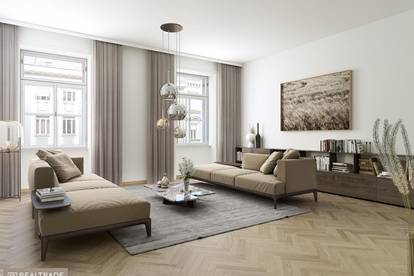 ERSTBEZUG- NEW PRESTIGE - Großzügige 3-Zimmer Luxusresidenz in zentraler Lage am unteren Belvedere
