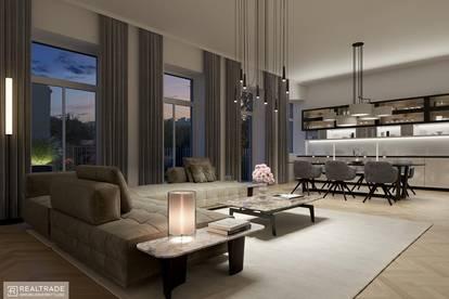 NEW PRESTIGE - Großzügige 3-Zimmer Terrassenwohnung in zentraler Lage am unteren Belvedere (Erstbezug)