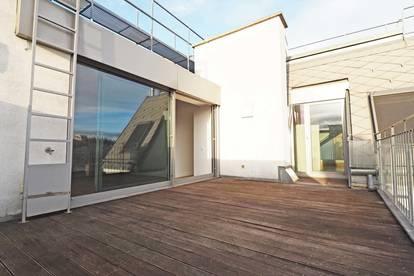 CZERNINGASSE | 4-Zimmer-DG-Wohnung mit 2 Terrassen beim Praterstern