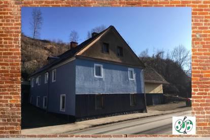Stadt Leoben: Wohn-/Bürohaus mit Garagen/Werkstatt/Lager