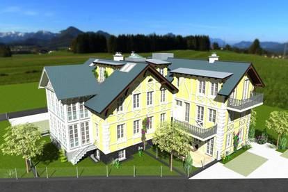 Neubau: Geschmackvolle Gartenwohnung in Zentrumslage