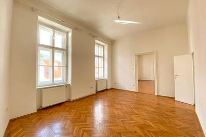 Zentrumsnahe Altbauwohnung in Baden mit kleinem Balkon // Centrally located old-style apartment in Baden with tiny balcony //