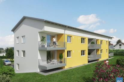 Neubauprojekt in Geretsberg, Dreizimmer-Mietwohnung Top 8 im OG