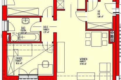 Objekt 338: 3-Zimmerwohnung in 4971 Aurolzmünster, Antiesenweg 13, Top 2