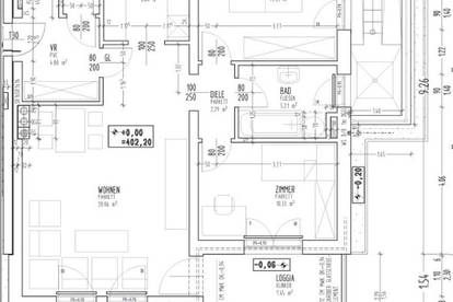 Objekt 338: 3-Zimmerwohnung in Aurolzmünster, Antiesenweg 12, Top 7