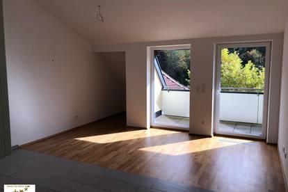 neue Wohnung mit Dachterrasse in Ruhelage