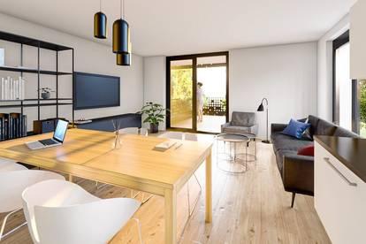 .PIET A 09 3-Zimmer-Terrassen-Wohnung in grüner Stadtrandlage