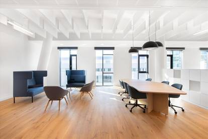 Flexible Arbeitsplätze mit eigenem Schreibtisch in Vienna, Messecarree
