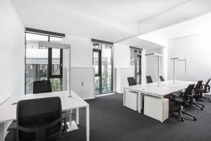 Großraumbüro in Vienna, Messecarree