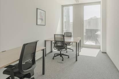 Privatbüro für drei Personen in Vienna, Icon Tower