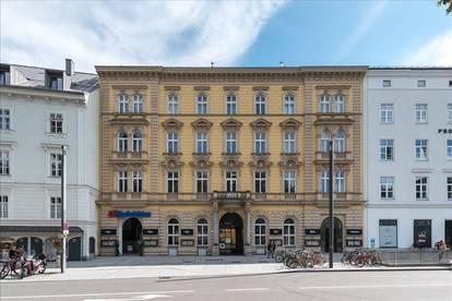 Großraumbüro in Linz, Promenade