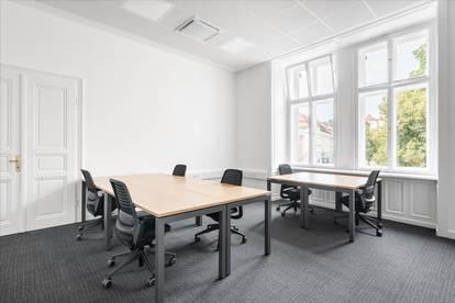Privatbüro für fünf Personen in Linz, Promenade