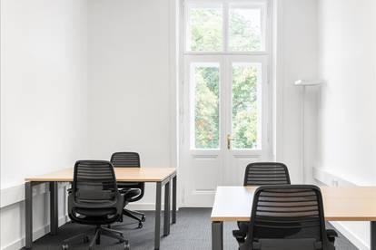 Privatbüro für vier Personen in Linz, Promenade
