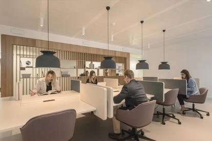 Flexible Arbeitsplätze mit eigenem Schreibtisch in Vienna, Spaces Square One