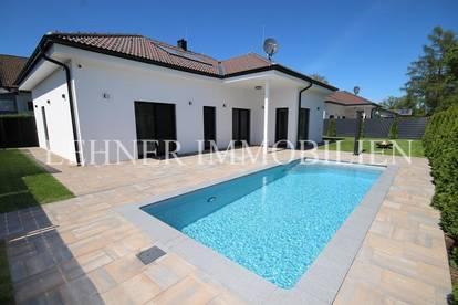 * Sofortbezug in Graz Puntigam Nähe Muradweg * Exklusive Bungalow Villa mit Pool *