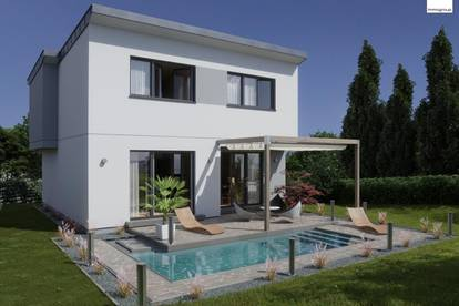 Designer Einfamilienhaus in Klosterneuburg an der Stadtgrenze Wiens - Mit 3D Besichtigung Demo