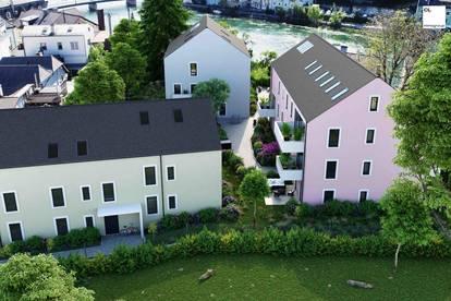 Helle 3-Zimmer-Wohnung mit großem Eigengarten zu kaufen