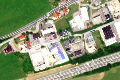 Lagerplätze in Eugendorf zu vermieten: 30 oder 50 m², € 10,-/m² inkl. USt. und Strom; abschließbar, Chipsystem, Videoüberwachung!