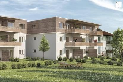 Luftige Drei-Zimmer-Wohnung mit Eigengarten zu kaufen