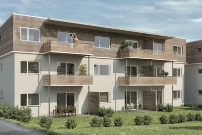 Modern angelegte Drei-Zimer-Wohnung zu kaufen