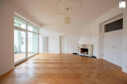 Seltene Gelegenheit! Große Wohnung in repräsentativer Villa zu mieten