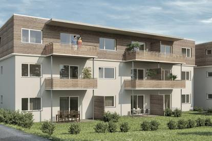 Drei-Zimmer-Wohnung mit Eigengarten zu kaufen