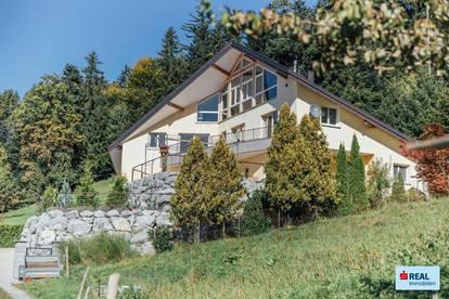 Villa mit Panorama-Seeblick