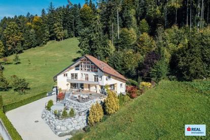 Villa mit Panorama-Seeblick am Giggelstein