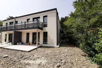 Hochwertige Doppelhaushälfte in ruhiger Grünlage direkt in Alland