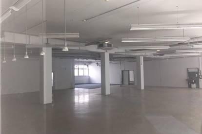 Lagerfläche mit Büro und Produktions-/ Ausstellungsfläche oder Verkaufsfläche zu mieten.