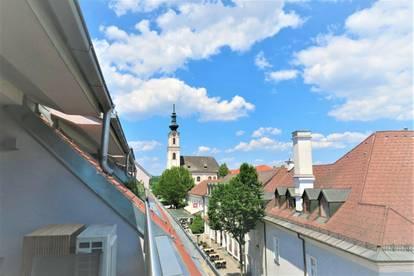 Luxuriöse Designwohnung im Herzen von Tulln! Zwei Terrassen, Tiefgarage, luxuriöses Interieur!