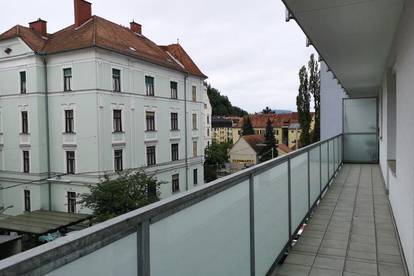 Top Anlegerwohnung inkl. Loggia (Graz Geidorf) nähe Schlossberg/ Karl-Franzens-Universität