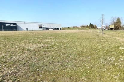 Betriebsbaugrund auf Basis Baurecht direkt an der B 1 mit 10.000 m2