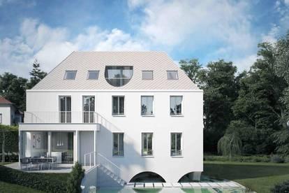 Neubau in Traumlage: Exklusive Villa direkt am Glanbach