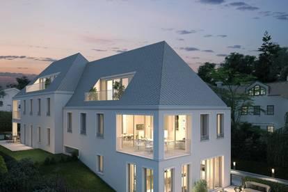 Neubauprojekt in idyllischer Lage: ruhige 2-Zimmer Gartenwohnung am Glanbach