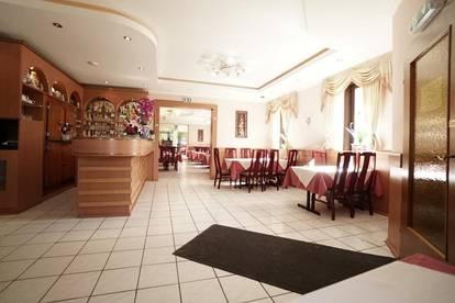 Restaurant + Wohnung + ca.1000m2 Grundstueck an Hauptstrasse!