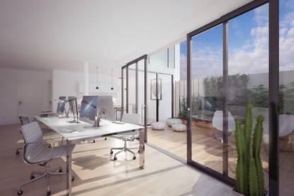 Geniales Mini-Bürohaus mit teilweiser Wohnwidmung