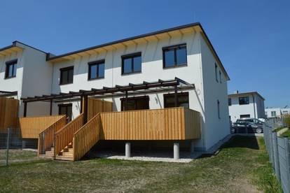 Perchtoldsdorf - Schlüsselfertige Neubaudoppelhaushälfte (Eckeinheit) inkl. Keller ca.180 m² Nutzfläche (Terrasse, Garten, 2 PKW Außenstellplätze)