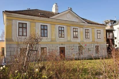 Denkmalgeschützte Stadtvilla mit Mühle und Ausbaugenehmigung in zentraler Lage