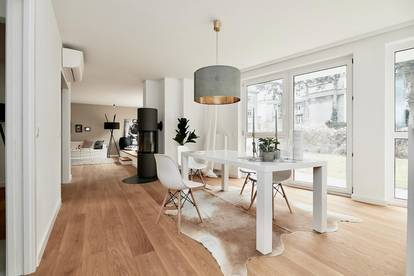 Erstbezug in Gersthofer Bestlage! 5-Zimmer-Garten-Luxuswohnung mit optionalem Tiefgaragenplatz