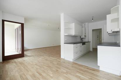 Bestlage Rathausplatz! Sonnige 3-Zimmer-Wohnung mit zwei Loggien und optionalem Garagenplatz