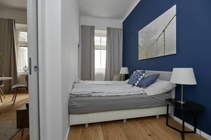 Luxus für Expats! Elegant möblierte 1,5-Zimmer-Altbau-Wohnung in der Wiener Innenstadt