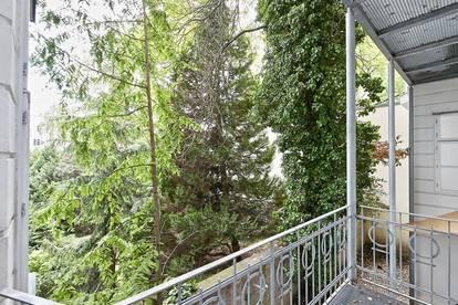 Bestlage beim Wertheimsteinpark! Repräsentatives 6-Zimmer-Stilaltbau-Büro oder Praxis mit Terrasse