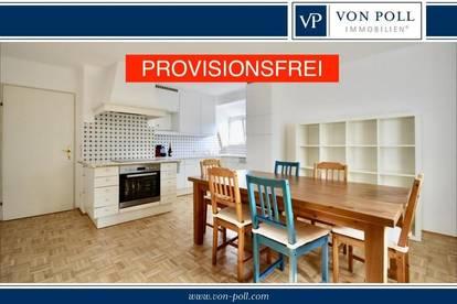 PROVISIONSFREI! Großzügige Wohnung auf 2 Etagen mit Loggia