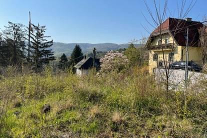 Grundstück in idyllischer Lage von Weidling
