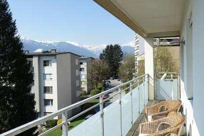 Großzügige 3-Zimmer-Wohnung mit 2 Balkonen und Garagenbox in Ruhelage - HÖTTING!