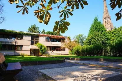 3 - Zimmer - Citywohnung mit Loggia | Hofstöckl | Grüner Innenhof |