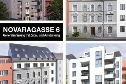 Neubauprojekt mit Aufstockung & Generalsanierung   Novaragasse